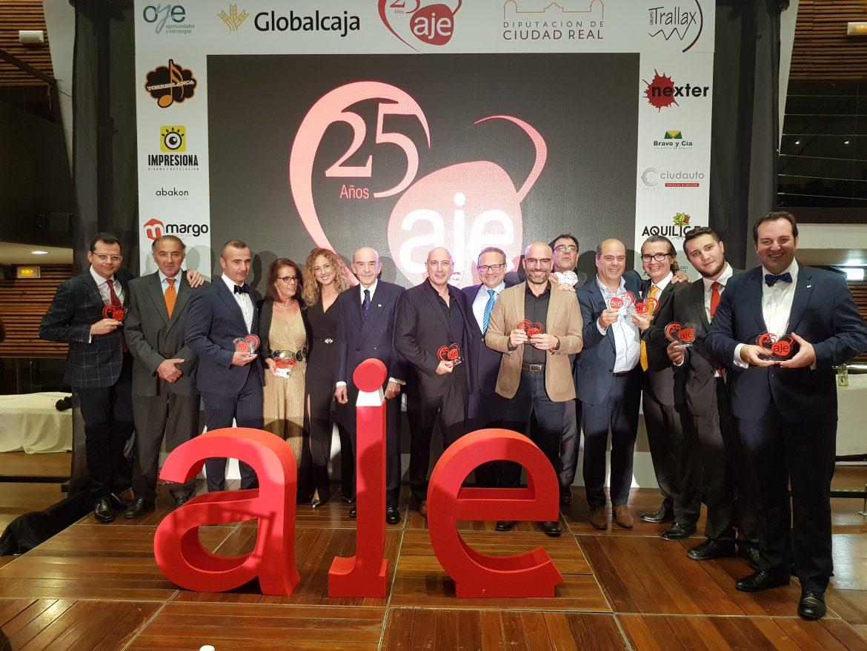 Globalcaja, con Aje Ciudad Real en su 25 Aniversario