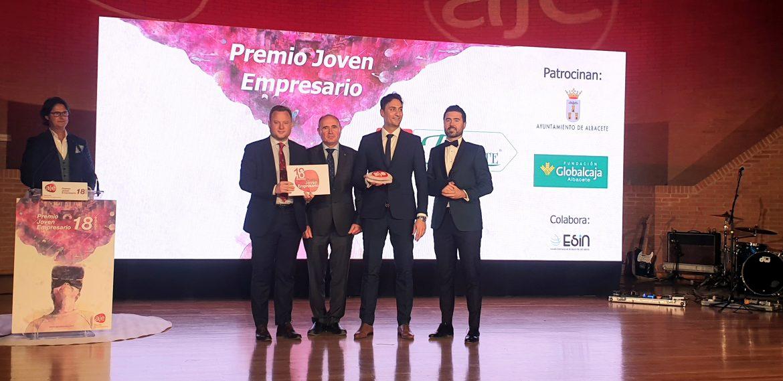 La Fundación Globalcaja Albacete muestra su apoyo al emprendimiento en los Premios Aje