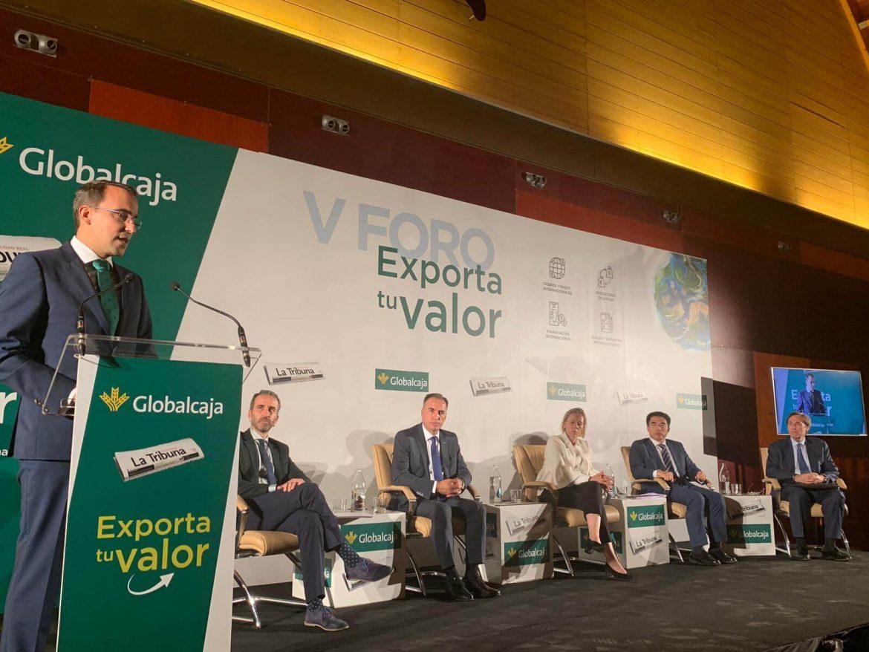 """Globalcaja, en el Foro """"Exporta Tu Valor"""" , destaca la potencialidad en las exportaciones de Castilla-La Mancha"""