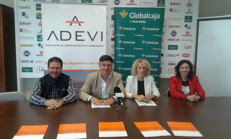 Renovado el convenio de Globalcaja con Adevi (Asociación de Empresarios de Villarrobledo)