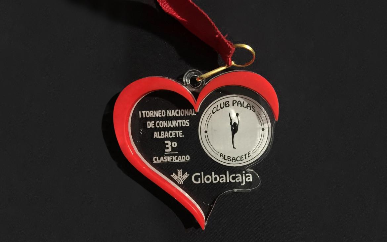 Globalcaja brinda su apoyo a las gimnastas del Club Palas de Albacete