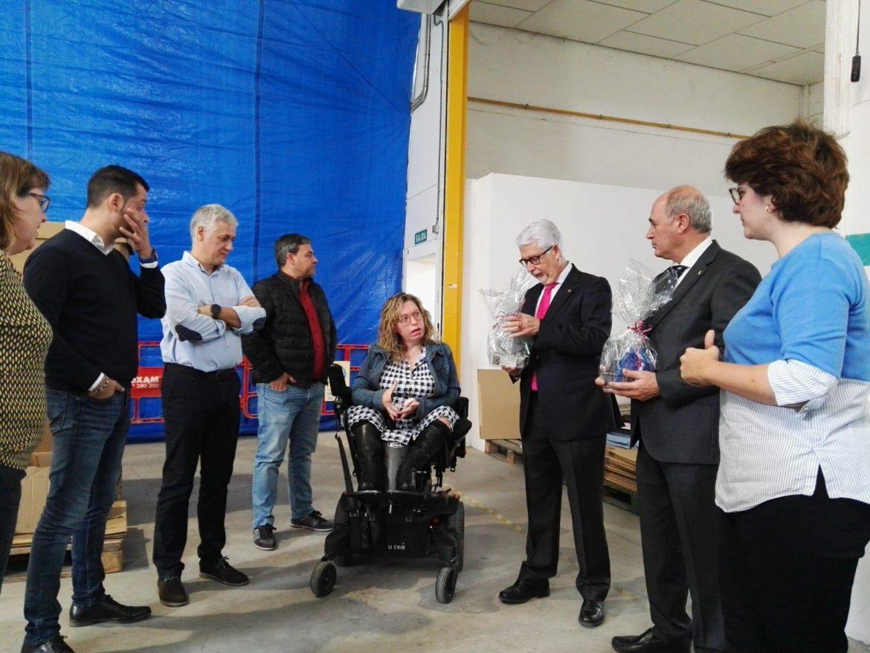 La Fundación Globalcaja Albacete destaca la labor de Amiab en la visita a sus instalaciones