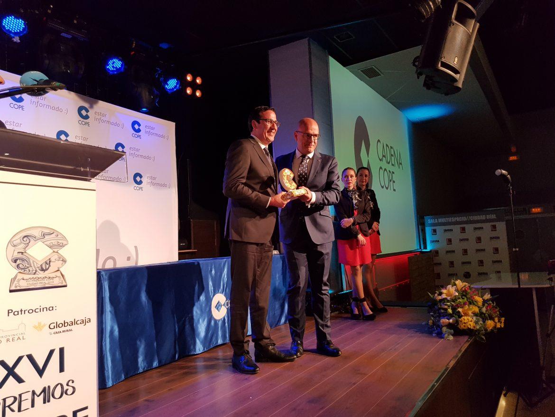 Globalcaja, con los Premios Cadena Cope Ciudad Real
