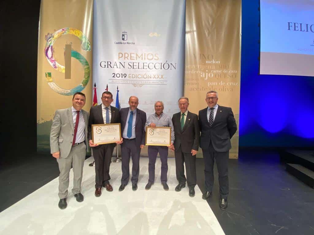 Globalcaja muestra su apoyo al sector agroalimentario de C-LM, en los Premios Gran Selección 2019