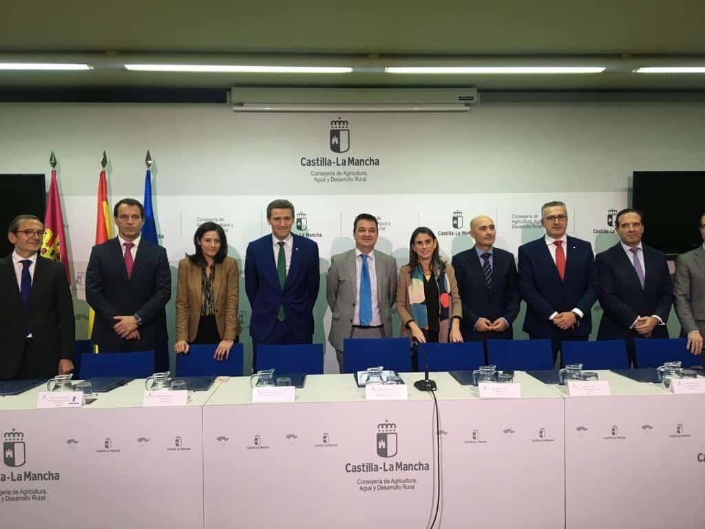 Globalcaja renueva con la Consejería de Agricultura la colaboración para la financiación de los agricultores profesionales