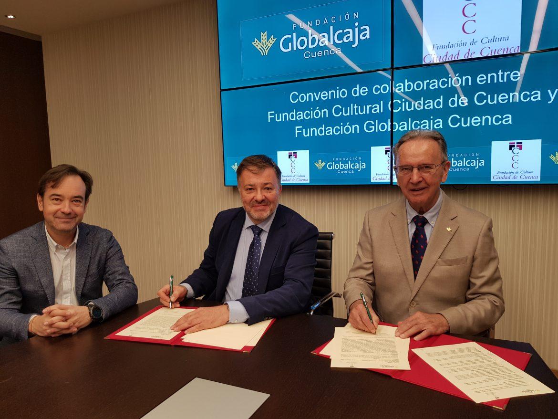 La Fundación Globalcaja Cuenca renueva su colaboración con la Fundación Ciudad de Cultura