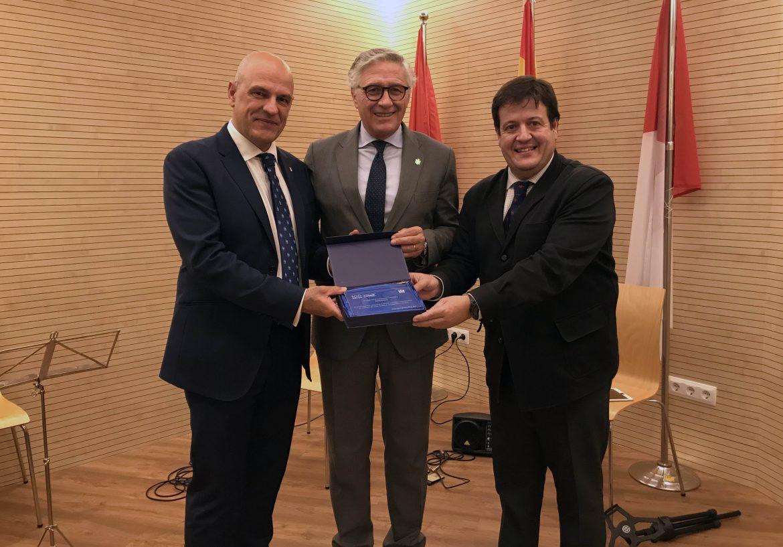 Globalcaja, reconocida por El Colegio de Médicos de Ciudad Real