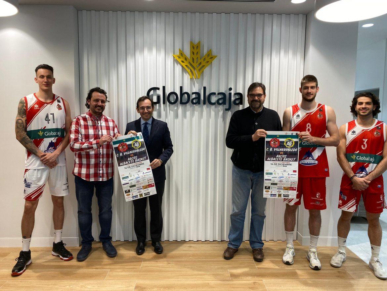El CB Villarrobledo agradece el apoyo de Globalcaja