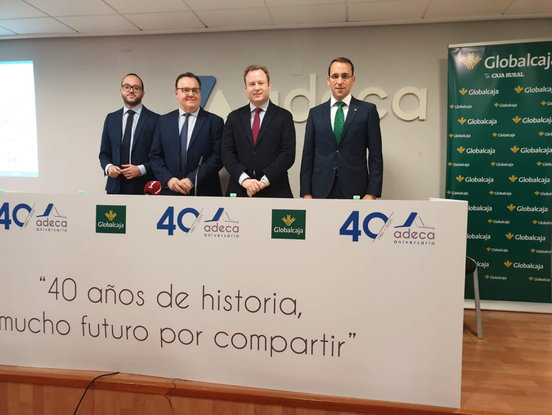 ADECA inicia los actos de celebración del 40 aniversario al que dedicará 12 meses, uno por cada servicio que presta al empresario