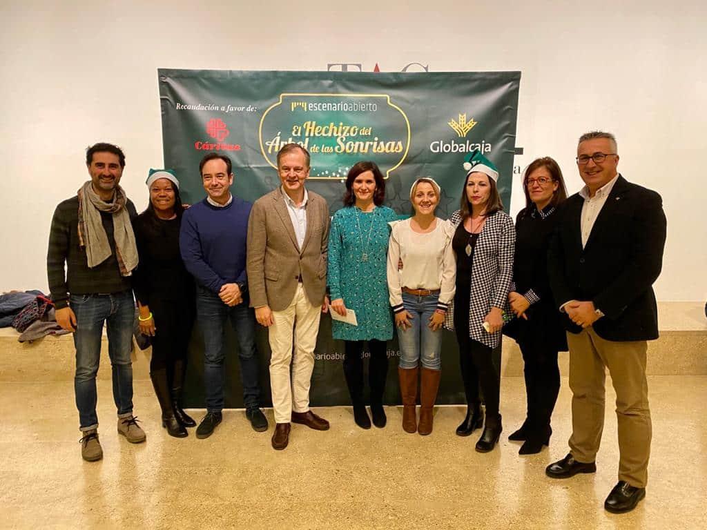 «El hechizo del árbol de las sonrisas» de Globalcaja llenó Cuenca de solidaridad