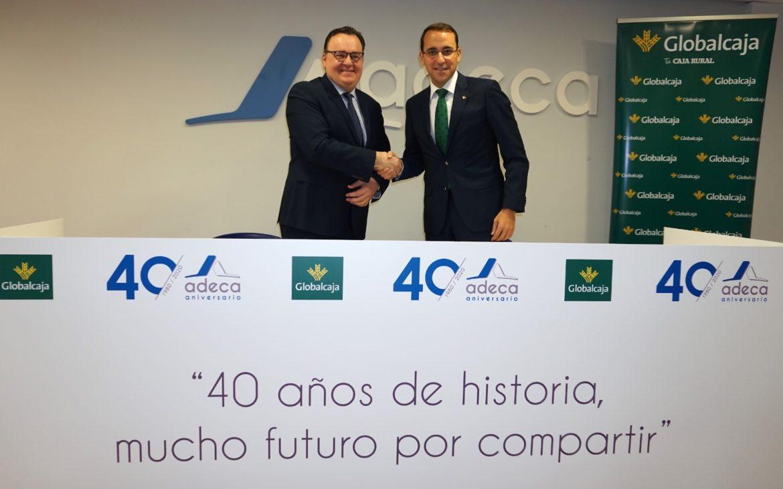ADECA agradece el apoyo de Globalcaja, patrocinador oficial de los actos conmemorativos del 40 aniversario