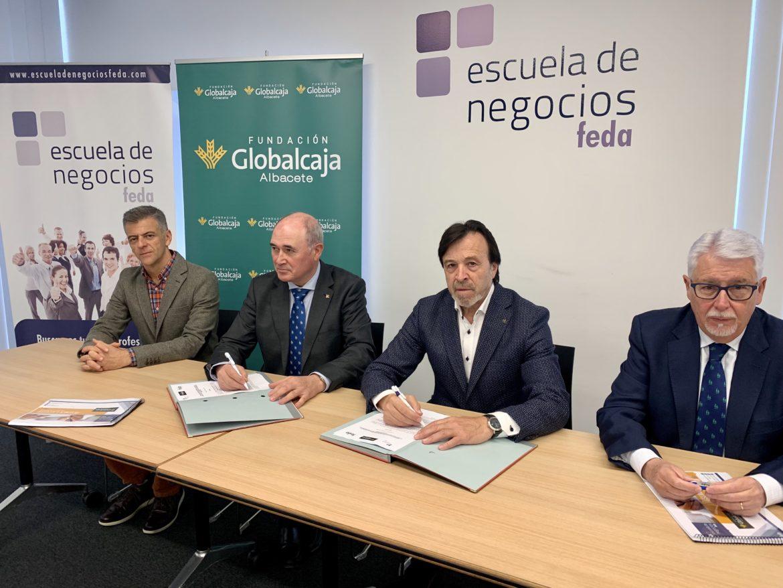 La Fundación Globalcaja-Albacete se convierte en colaborador global de Escuela de Negocios Feda