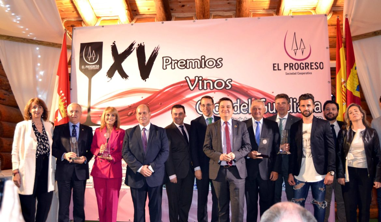 """Éxito de los 15 Premios """"Vinos Ojos del Guadiana"""" de El Progreso con la solidaridad, la cultura y el cooperativismo como protagonistas"""