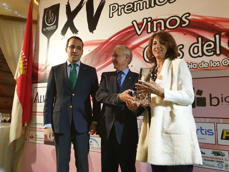 """El Director General de Globalcaja, Pedro Palacios, entrega el Premio Solidario """"Vinos Ojos del Guadiana"""" a Aldeas Infantiles SOS España"""