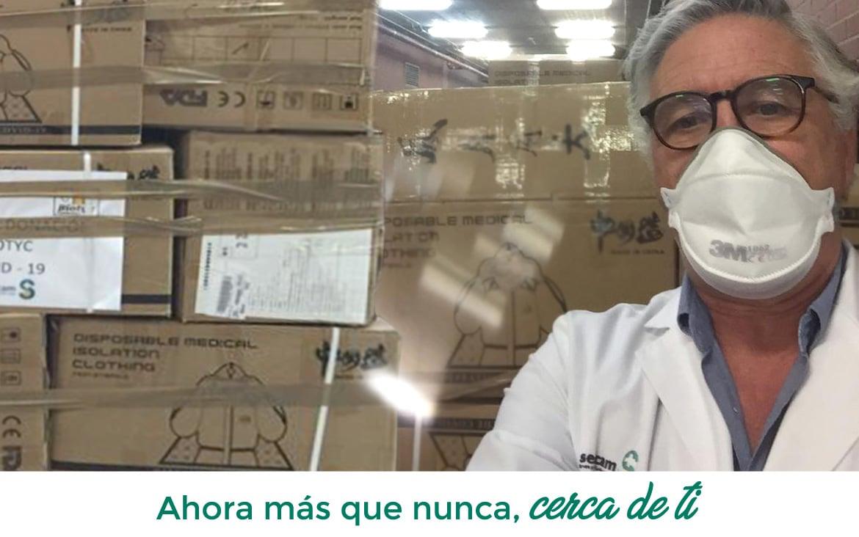 Fondo Solidario COVID-19: El Colegio de Médicos de Ciudad Real compra Epis y test de diagnóstico