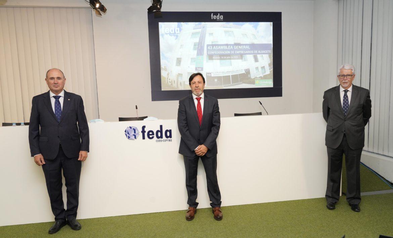 Globalcaja muestra su apoyo al mundo de la empresa en la Asamblea General de FEDA