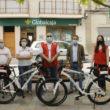 Mahora estrena patrulla de Cruz Roja en bicicleta gracias a Globalcaja