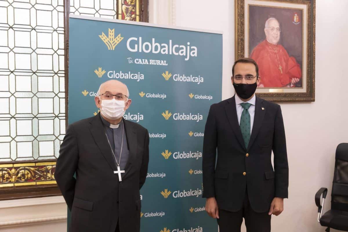 Globalcaja renueva su compromiso con la labor benéfica, social y cultural del Obispado de Albacete