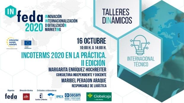 Segundo taller dinámico In-Feda 2020 con los cambios de los Incoterms en la operativa en comercio exterior
