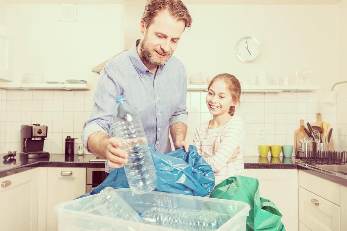 Guía para reciclar y cuidar de la naturaleza