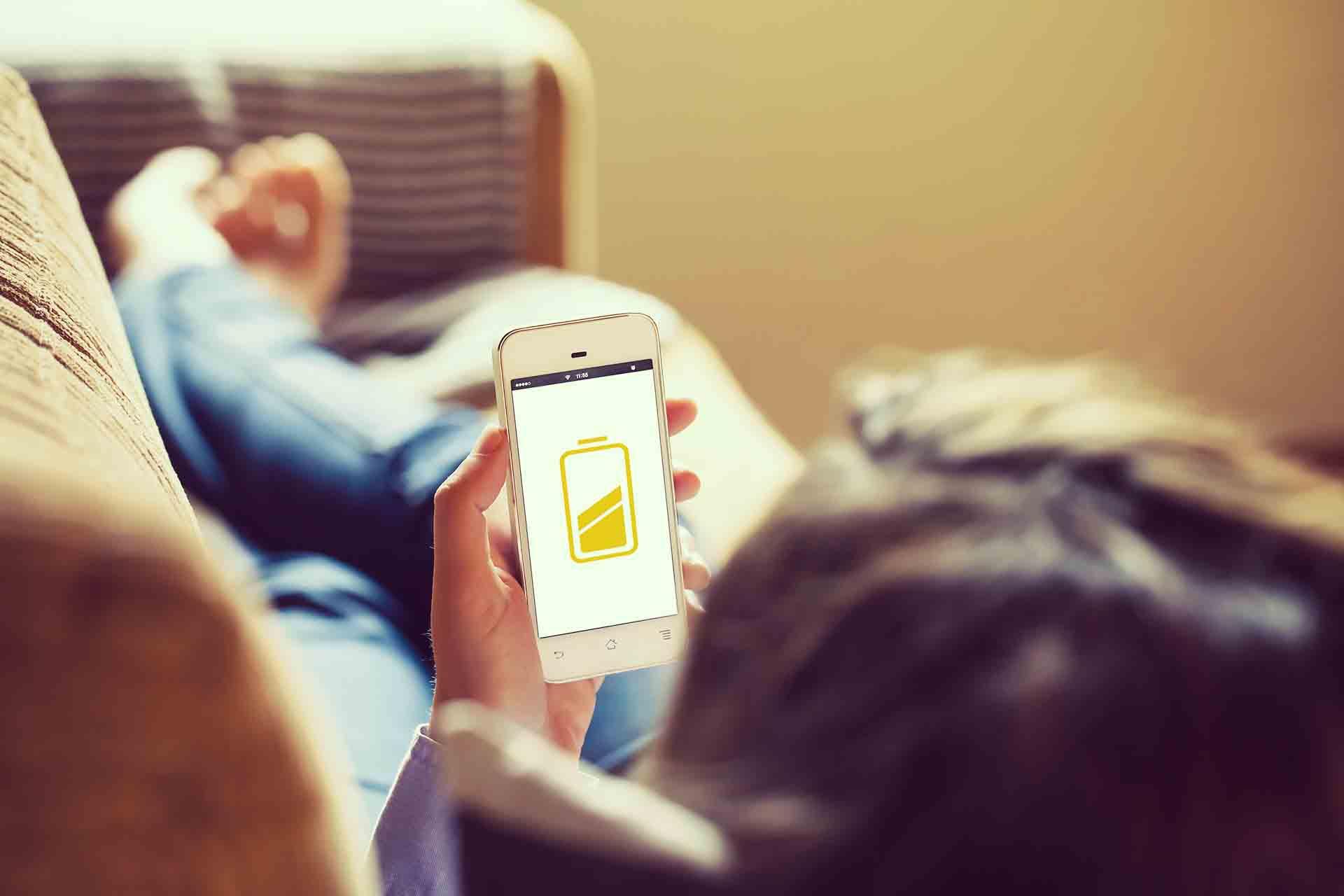 Ahorro energia en smartphone iOS y android