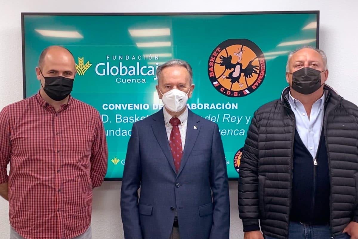 La Fundación Globalcaja Cuenca y el Basket Quintanar, juntos por la promoción del deporte base en la provincia