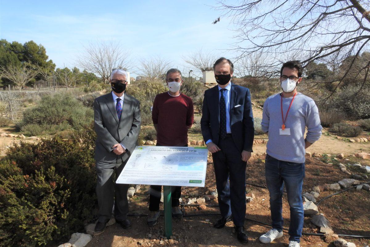 La Fundación Globalcaja Albacete hace realidad la nueva señalética del Jardín Botánico